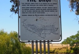 The Drop is close by between Tocumwal and Berrigan on the Berrigan Rd