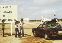 driving across the nullarbor