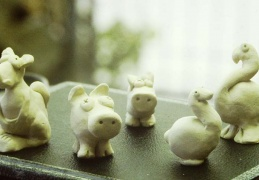 The first terracotta animals, how it all started