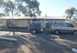Arriving at Leigh Creek on a Sunday and everything was closed