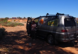 Road shoots from our over night bush camp to Leigh Creek