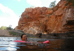 Ormiston Gorge swimming hole