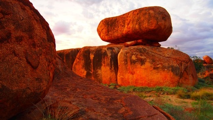 Devils Marbles one of the most interesting place we visited