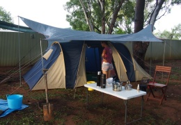 camping in Katherine
