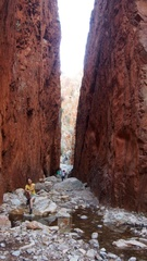 Repairing Standley Chasm walk Dec 2014