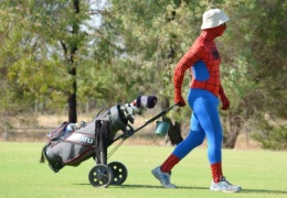 superhero golf accessories