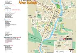 Alice Springs CITY Map