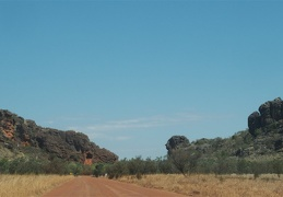 Road scenes of the Gibb River Rd