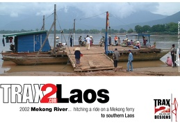 Laos Mekong River ferries and crossings