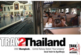 Bangkok train Thailand