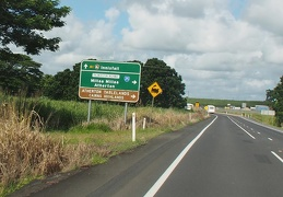 Innisfail is just south of Cairns
