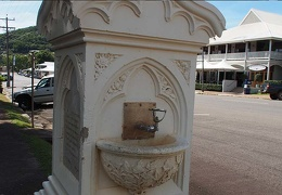 Cooktown historical drinking fountain