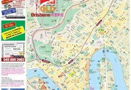 Brisbane map, Map of Brisbane